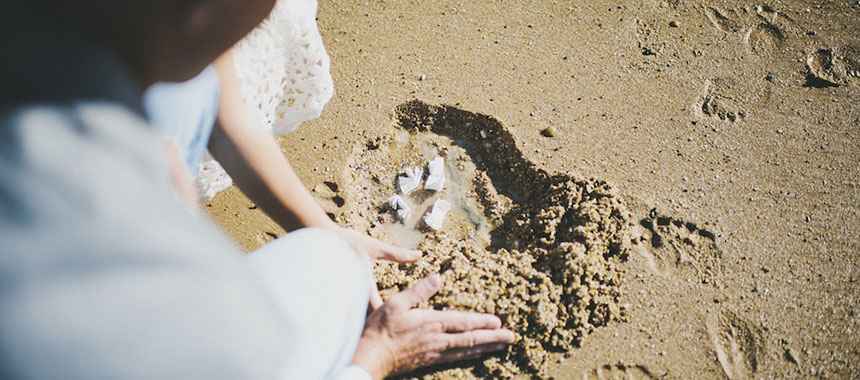 Wedding ritual with Earth element